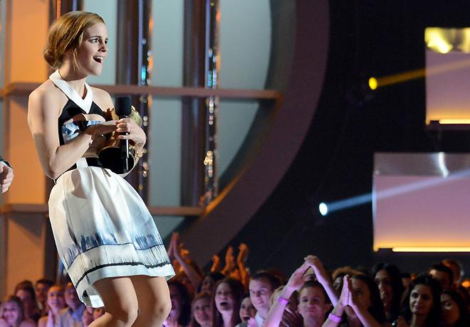 Эмма Уотсон на MTV Movies Awards