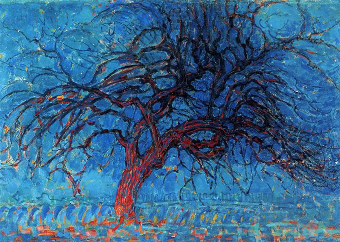 Пит Мондриан, «Красное дерево», 1910