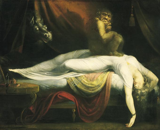 Сонный паралич: самая страшная вещь, которая может произойти ночью (3 фото)