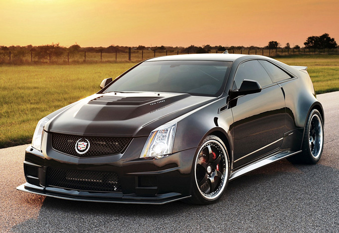 2012 Hennessey VR1200 Twin Turbo Cadillac CTS-V Coupe (3 секунды до ста километров в час)