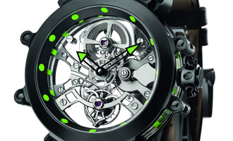 Bvlgari Tourbillon Saphir Ultranero
