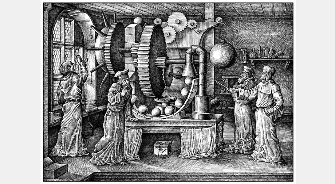 Как придумывали вечный двигатель (3 фото)