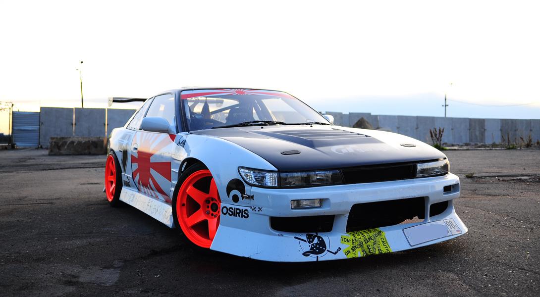 Nissan Silvia — заднеприводное спорткупе, которое стало главной машиной в мировой культуре дрифта.