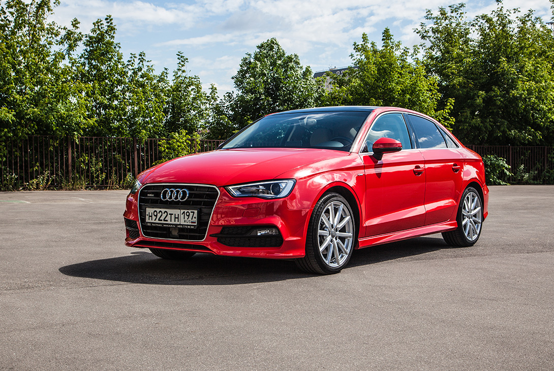 Экстерьер Audi A3