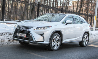 Тест-драйв: Lexus RX 350 AWD Exclusive