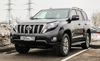 Тест-драйв: Toyota Land Cruiser Prado
