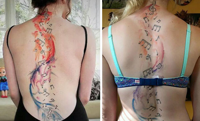 Как сделать большую татуировку 42