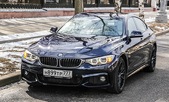 Тест-драйв: BMW 440i Gran Coupe