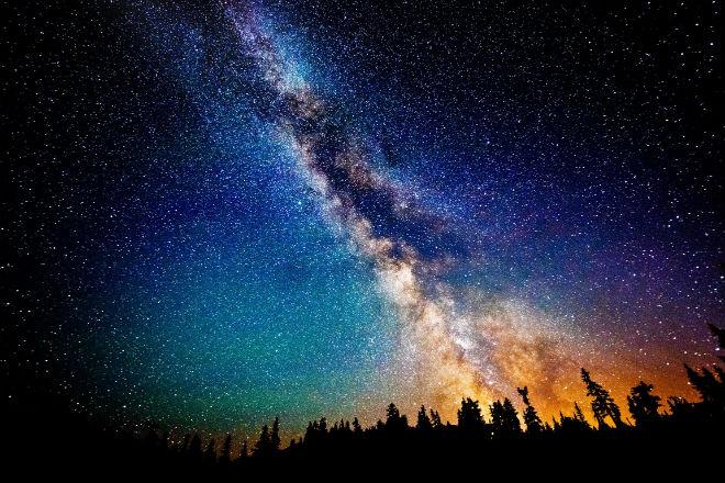 дни, как фотографировать звездное небо на смартфон уезжала, мне