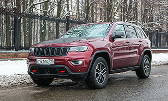Тест-драйв: Jeep Grand Cherokee Trailhawk