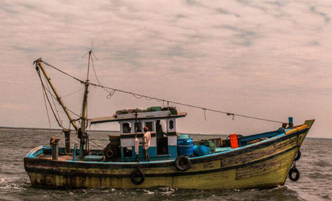 10 лет назад в море с берега унесло лодку, а на днях японец нашел ее почти на том же месте