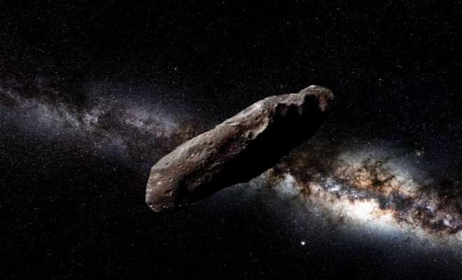 Профессор Гарварда уверен, что пролетевший у Земли в 2017 году астероид был создан не природой