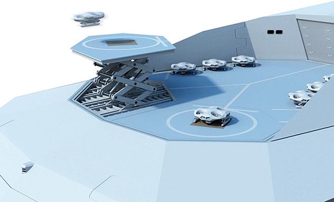 Англия строит корабль, который называют самым опасным в мире. На борту дроны и гиперзвуковые ракеты