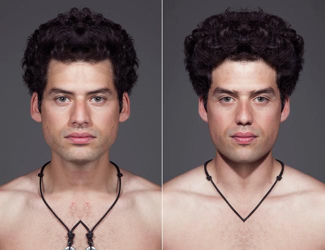 как сделать из одного фото два это выражение своих