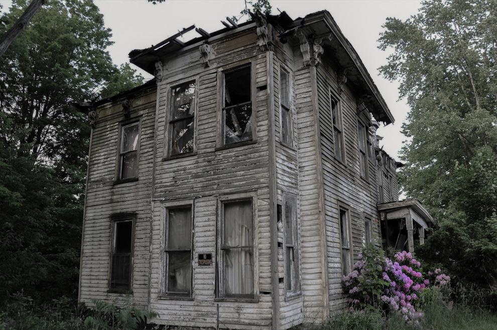 картинка заброшенного дома призрака нем собрана вся