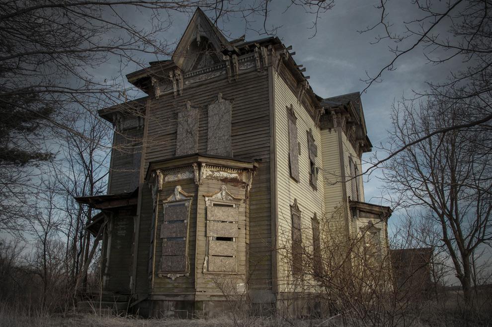 Заброшенные дома фото