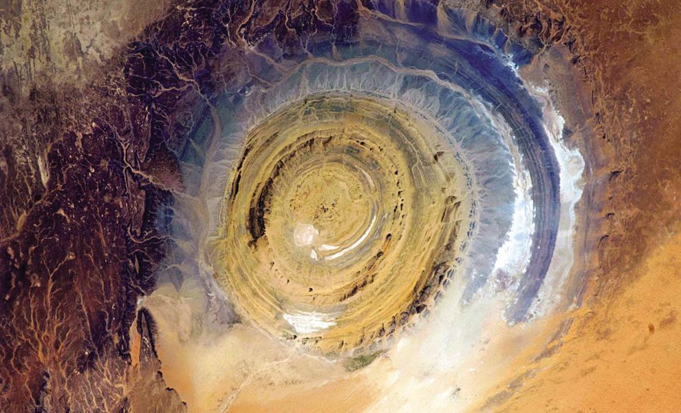 странное фото из космоса всей России Воронежская