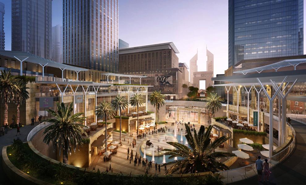 Район Dubai International Financial Center