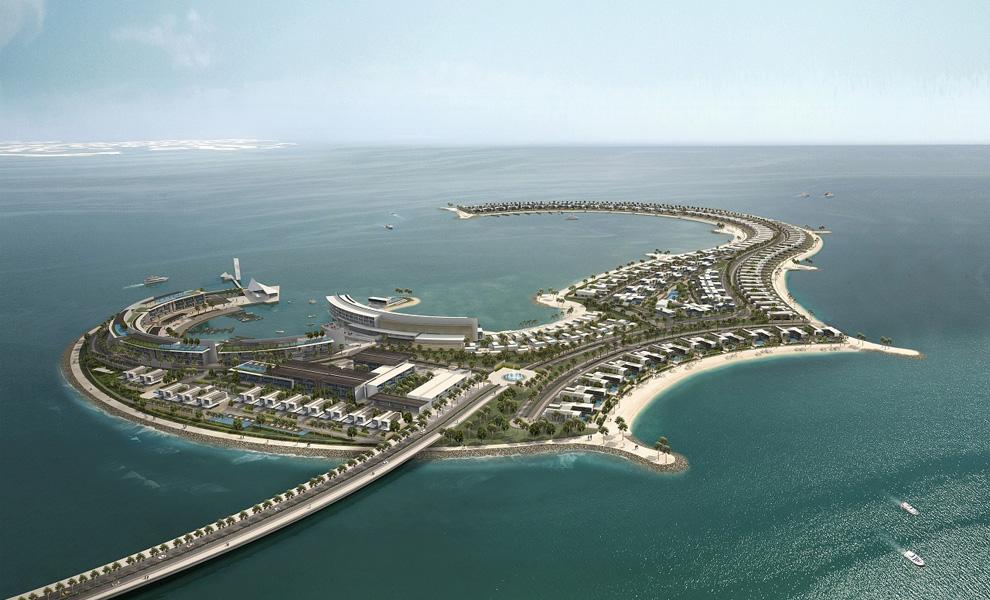 Рукотворный остров в Дубае Jumana Island