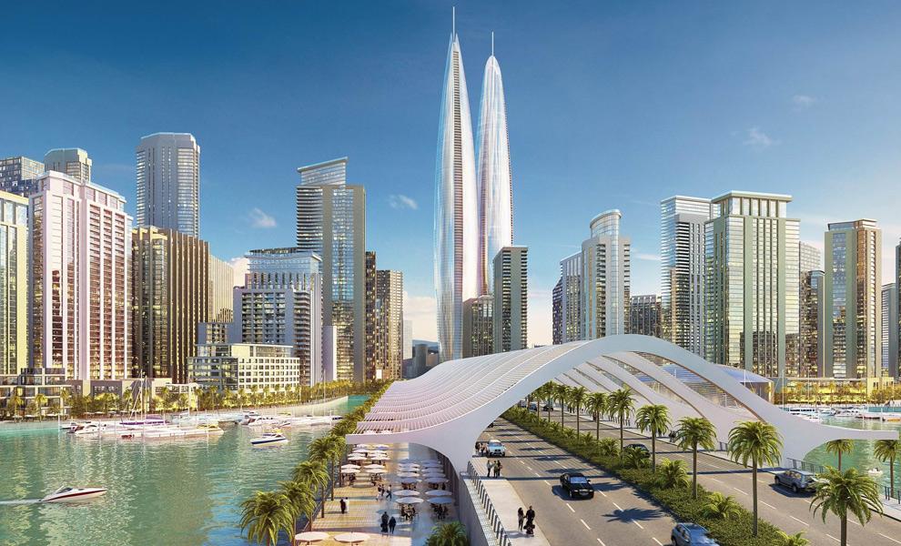 Новый район Dubai Creek Harbour