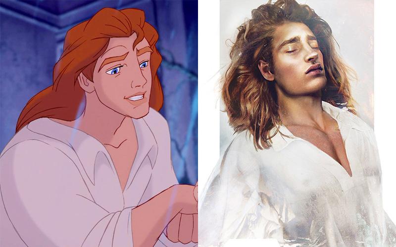 Принц Адам из «Красавицы и Чудовища»