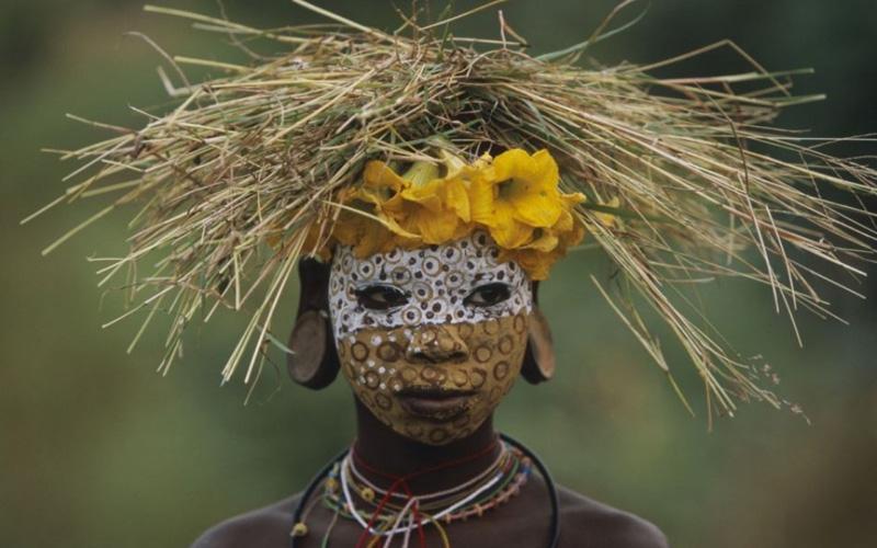 Африканские модники. Племя со вкусом.