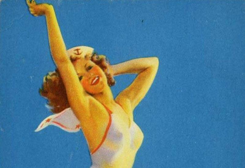 На поток поставил свой талант художника американский иллюстратор Джил Элвгрен. Его девушки украшали календари множества компаний, носы боевых самолетов и даже отдельные серии открыток.