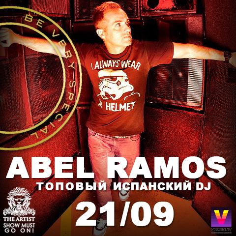 Be very special with DJ Abel Ramos