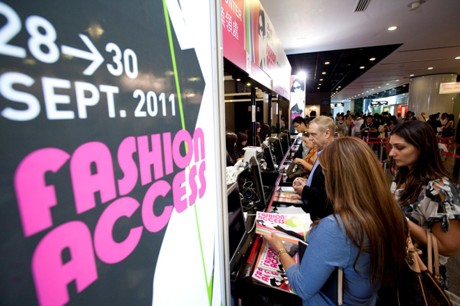 Fashion Access 2012 в Hong Kong Convention and Exhibition Center