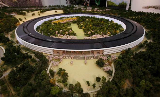 Новая штаб-квартира Apple в Купертино