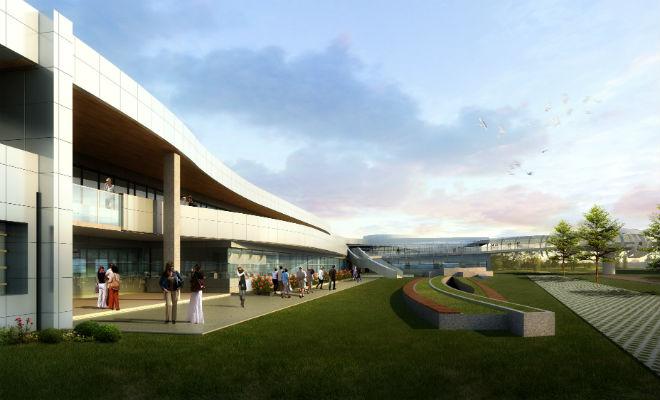 Новая штаб-квартира Googleplex Bay View