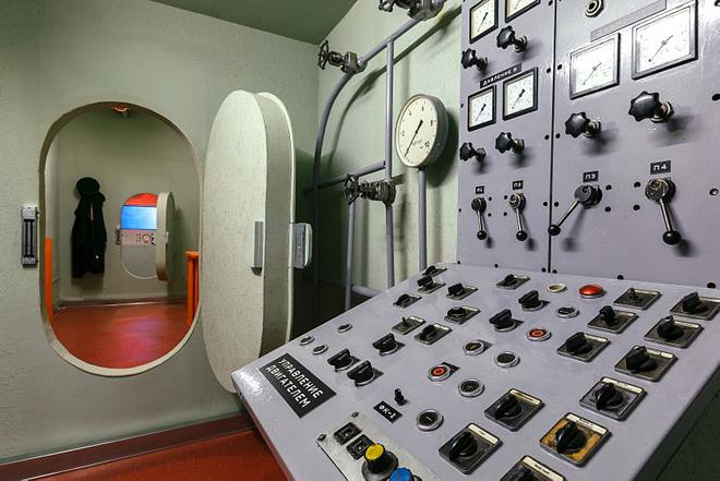 комнаты в подводной лодке