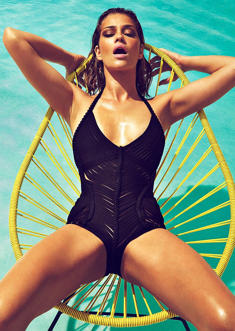 melania trump sports illustrated swimsuit - 728×1024