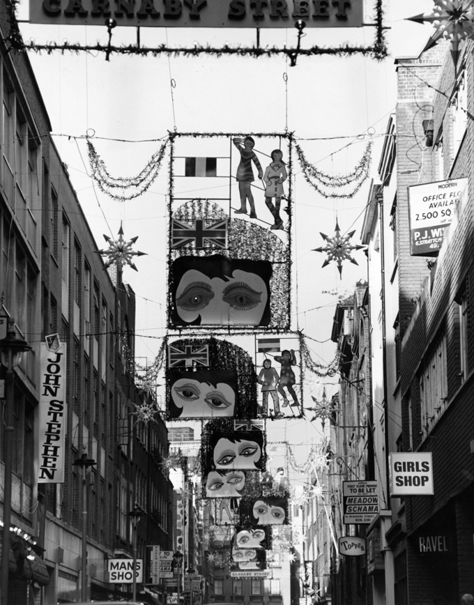 �������������� ��������� �� Carnaby St., ������� 1967