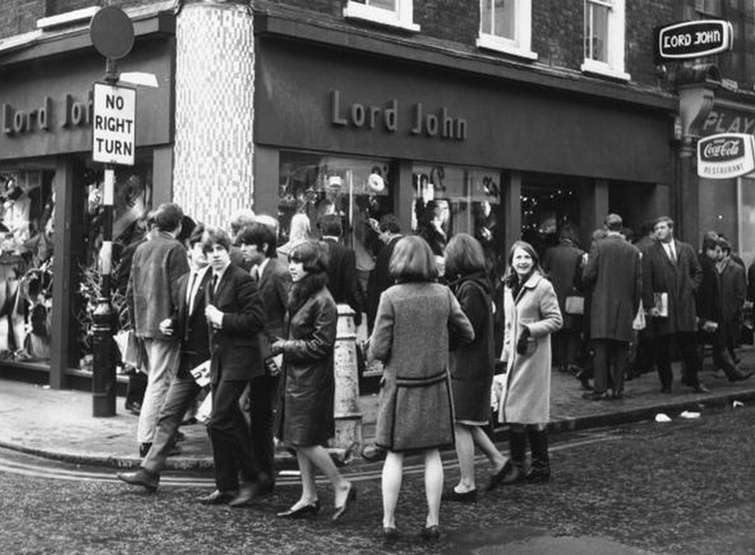 �������� ��� Carnaby St. �������������� � ����� � Lord John, ������, 1965