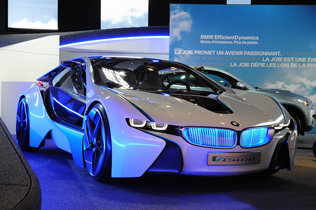 2010 Paris Motor Show: BMW Vision EfficientDynamics