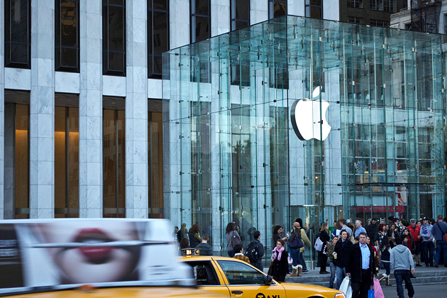 Apple Store 5th Avenue, Нью-Йорк