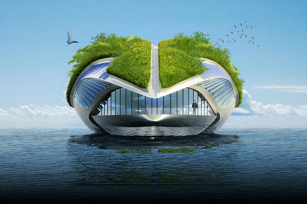 Physalia, Vincent Callebaut Architects, экология, круизы, дизайн