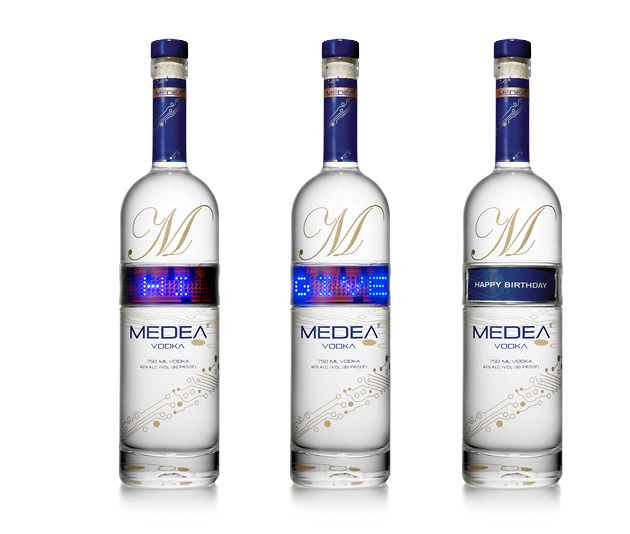 MEDEA Vodka, алкоголь, упаковка, Medea