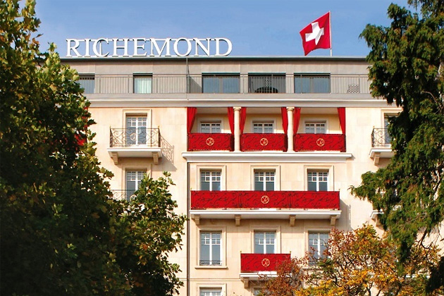 отель Le Richemond Hotel, Женева, Швейцария