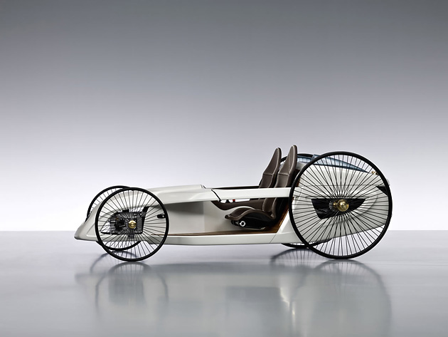 F-CELL Roadster, Daimler AG, авто, дизайн