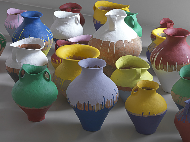 Ай Вэйвэй. Coloured Urns