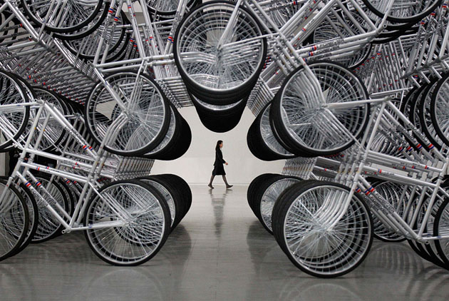 Ай Вэйвэй. Forever Bicycles