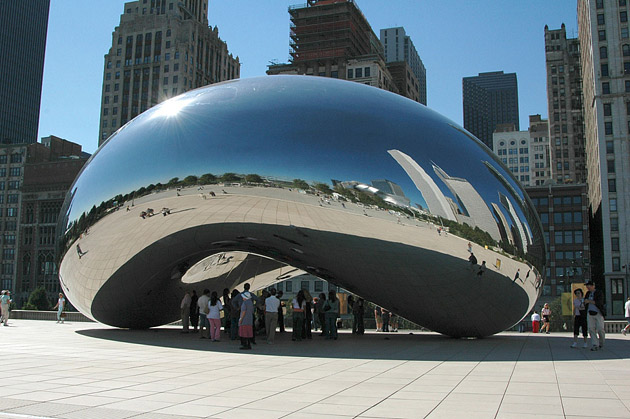 Аниш Капур. Cloud Gate