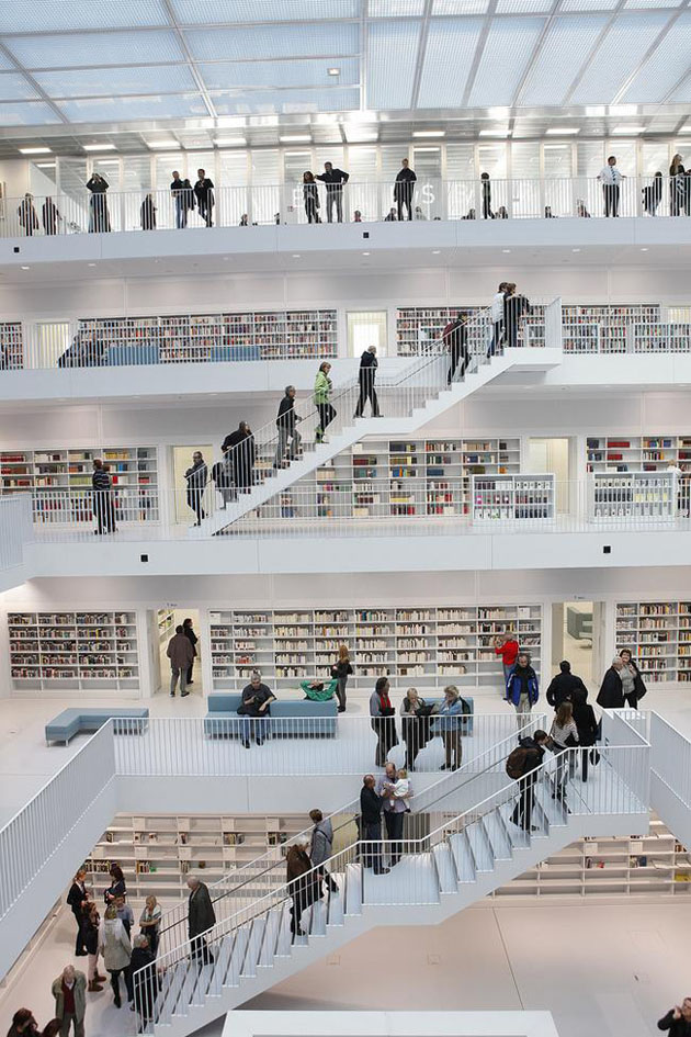 Yi Architects: New Stuttgart Library