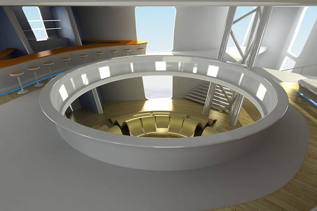 Aircruise, Seymourpowell, дизайн, путешествия, отели