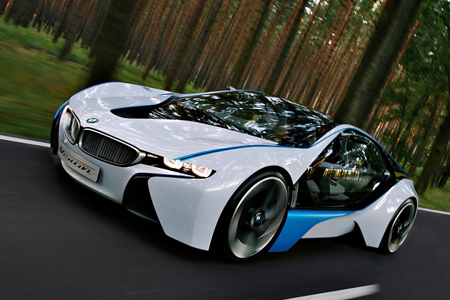 BMW Vision EfficientDynamics, ��������, ������, ��������