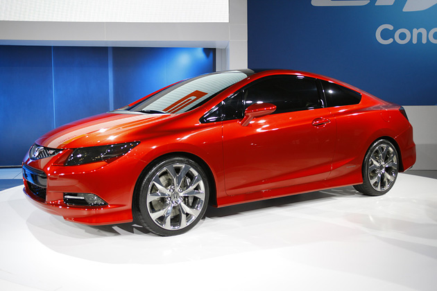 Honda Civic Coupe Concept 2012