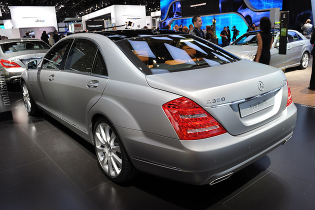 Mercedes-Benz S350 Bluetec 2012