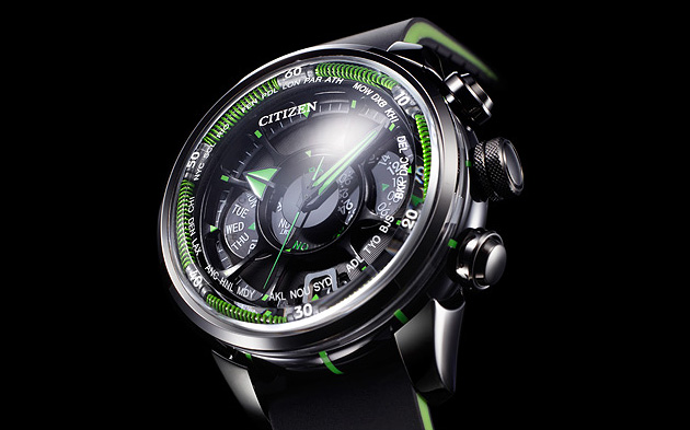 Citizen Eco-Drive Satellite Wave Watch